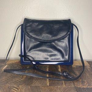 Bottega Veneta Small Black Leather Purse Bag